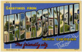 Greetings from Hendersonville, North Carolina The Friendly City