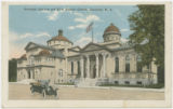 Carnegie Library and First Baptist Church, Charlotte, N.C.