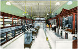 Interior View of Creech Drug Co Store, Smithfield, N.C.