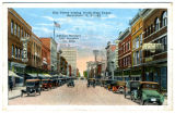 Elm Street looking North from Depot, Greensboro, N.C.
