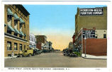 Greene Street, Looking South from Market, Greensboro, N.C.