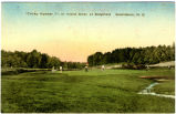 """Tricky Number 7"", or Island Green at Sedgefield  Greensboro, N.C."