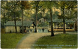 Spring House and Pavilion, Seven Springs, N.C., Near Goldsboro