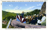 President Roosevelt Speaking at the Dedication of the Great Smoky Mountains National Park, Laura...