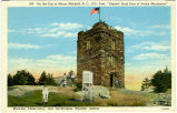 "On the Top of Mount Mitchell, N. C., 6711 Feet, ""Highest Peak East of Rocky Mountains,""..."