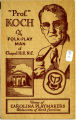 """Prof."" Koch, The Folk-Play Man of Chapel Hill, N.C.  Home of Carolina Playmakers,..."