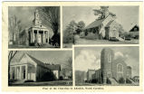 Four of the Churches in Ahoskie, North Carolina