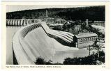 The Power Dam at Badin, Near Albemarle, North Carolina.