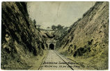 Swannanoa Tunnel, Ridgecrest, N.C., 1820 feet long, 123 feet under ground