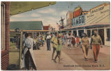 Boardwalk Scene, Carolina Beach, N.C.