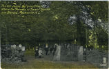 The Old Joppa Burying Ground, Where the Parents of Daniel Boone are Buried, Mocksville, N.C.