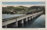 Southern Railway's New Concrete Bridge Across French Broad River, Asheville, N.C.