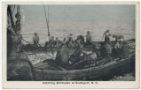 Catching Menhaden at Southport, N.C.