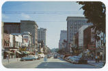 Fayetteville Street, looking south, Raleigh, N.C.