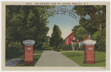 East Entrance, Mars Hill College, Mars Hill, N.C.