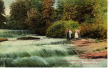 "The Davis ""White Sulphur Spring,"" Mill Dam and Shoals, Hiddenite, N.C."