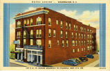 Hotel Louise -- Washington, N.C.  On U.S. 17, Ocean Highway to Florida, and U.S. 264