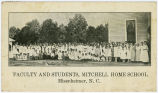 Faculty and Students, Mitchell Home School, Misenheimer, N.C.