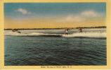 Water Ski-ing at White Lake, N.C.