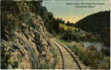 "Roses Creek, Blue Ridge Mountains, ""Clinchfield Route."""