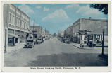 Main Street looking North, Fairmont, N.C.