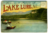 Souvenir Folder of Lake Lure, N.C.