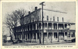 Hotel Lillington, 300 Feet of Porch, Lillington, N.C. Steam Heat, Hot and Cold Water