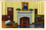 Reference Room of the Carl A. Rudisill Library, Lenoir Rhyne College, Hickory, N.C.