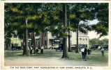 """The Old Dowd Home"" Army Headquarters at Camp Greene, Charlotte, N.C."