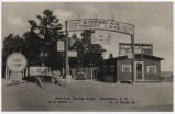 American Tourist Camp, Henderson, N.C., US Route 1. N.C. Route 50