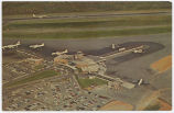 Aerial View of Charlotte Municipal Airport, Charlotte, N.C.