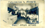 Turlington and Moore's Busy Drug Store, Wilson, N.C.