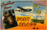Greetings from Fort Bragg N.C.