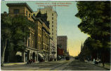 Charlotte, N.C., View of Tryon Street, Looking North from Third Street