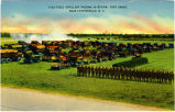 Field Artillery Passing In Review, Fort Bragg, Near Fayetteville, N.C.