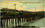"Through Train To Wrightsville Beach, near Wilmington, N.C. ""Local Sunday School Excursion..."