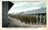 National Guard -- Camp Green, Charlotte, N.C.  Officers' Quarters.  The officers in very...