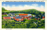 Panoramic View of Portion of Appalachian State Teachers' College, Boone, N.C., Alt. 3,333 Ft.