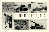 Greetings from Camp Mackall, N.C.