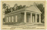 Friedens Evangelical Lutheran Church, Founded 1771 - Built 1869. Gibsonville, Guilford Co., North...