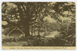 Ancient Tree and Spring House near Alexander's Inn, Swannanoa, N.C.