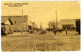 Main St., Looking South, Four Oaks, N.C.
