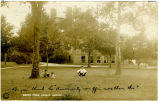South from Parade Ground [North Carolina Agricultural & Mechanical College]