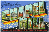 Greetings from Chapel Hill, Home of the University of North Carolina