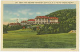 "Grove Park Inn from Golf Course, Asheville, N.C. ""In the Land of the Sky"""
