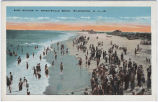 Surf Bathing at Wrightsville Beach, Wilmington, N.C.