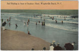 Surf Bathing in front of Seashore Hotel, Wrightsville Beach, N.C.