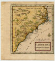 Carolina by Herman Moll Geographer