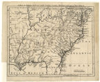 A Map of Virginia, North and South Carolina, Georgia, Maryland with part of New Jersey etc.