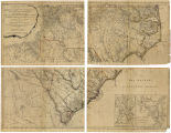 An Accurate Map of North and South Carolina With Their Indian Frontiers, Shewing in a distinct...